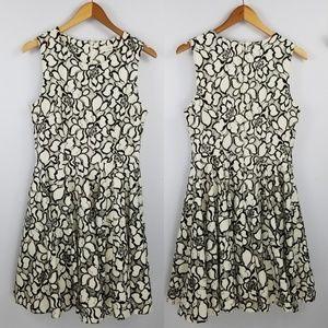 3 for $25- Maison Jules Lace Fit & Flare Dress